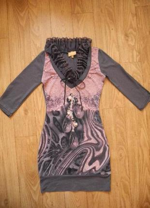 Красивое платье s-xs