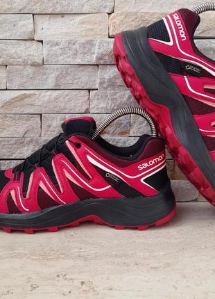 Женские кроссовки salomon gore-tex5 фото