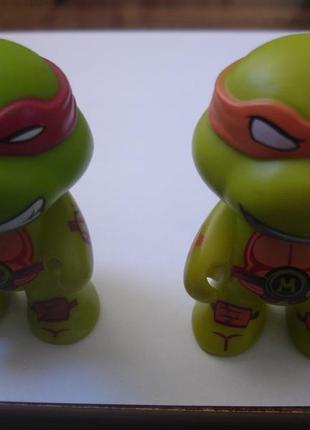Две фигурки черепашек ниндзя 7 см идеал оригиналы