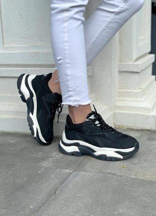 Ash black женские кроссовки наложка