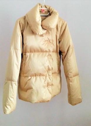 Теплый зимний качественный пуховик inwear, дания 44-46
