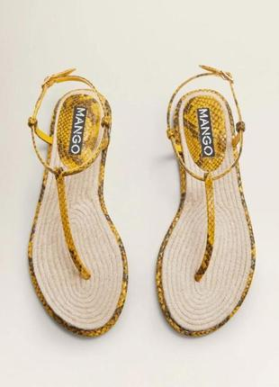 Новые сандали \ босоножки mango 38