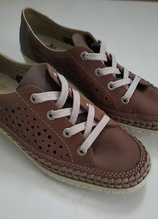 Туфли летние мокасины
