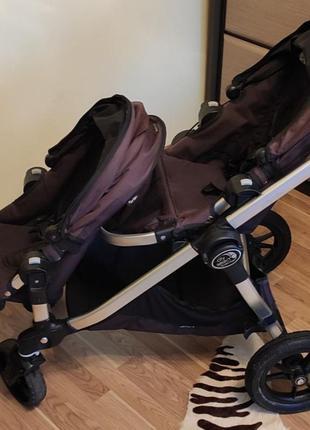 Коляска для двійнят baby jogger city select