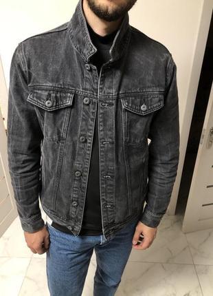 Джинсовая куртка pull&bear