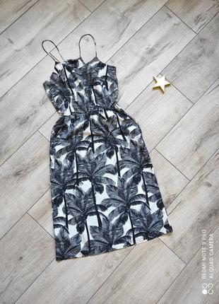 Платье 👗 пальмы сарафан