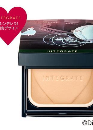 Тональная пудра лимит набор shiseido integrate profinish foundation, япония