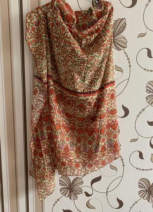 Manila grace большой хлопковый платок, италия