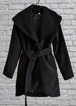 Базовое пальто осеннее, демисезон, ткань под кашемир