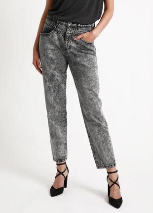 Джинсы мом mom pimkie джинсы винтажные высокая посадка