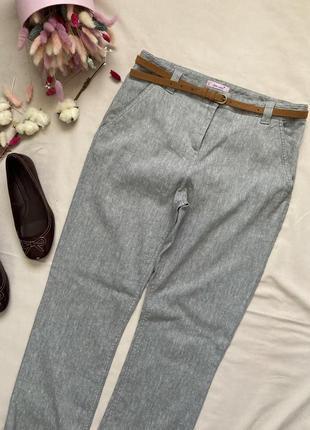 Лен  льняные брюки в стиле zara