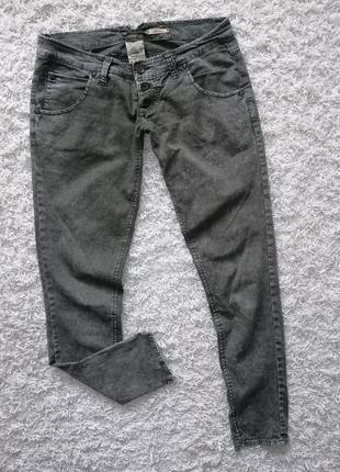 Стильные тонкие женские джинсы брюки please м в прекрасном состоянии