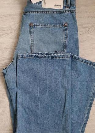 Мужские повседневные джинсы синего цвета bershka