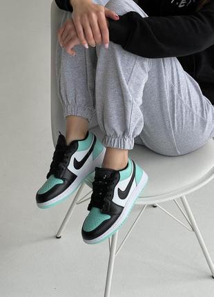Nike air jordan🆕шикарные женские кроссовки🆕кожаные низкие найк аир джордан