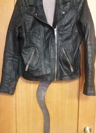 Куртка кожанная натуральная
