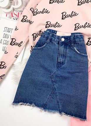 Джинсовая юбка  missguided barbie 🌸