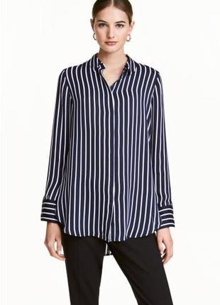 Блуза в полосочку h&m индонезия