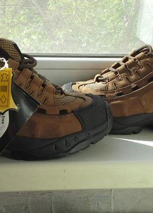 Профессиональные мужские ботинки  trojan workwear кожаные защитный стальной носок