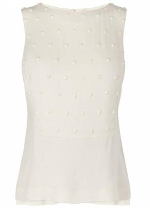 Элегантный нарядный топ блуза карен миллен (karen millen)
