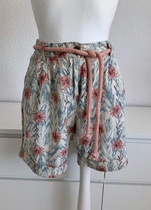 Льняные шорты esmara