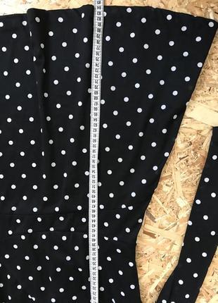 Платье в горох , платье отрезное по талии, mango6 фото