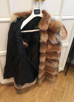 Продам жилетку с меха лисы