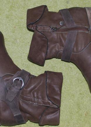 Стильные ботинки s.oliver