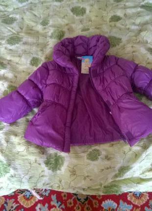 Куртка детская демисезон, 9-12 мес