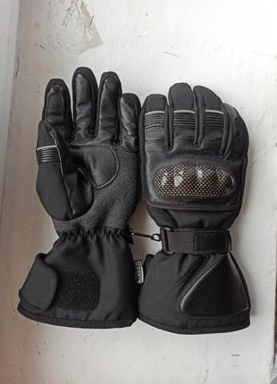 Перчатки мото crane thinsulate hipor 10 рукавиці мотоперчатки