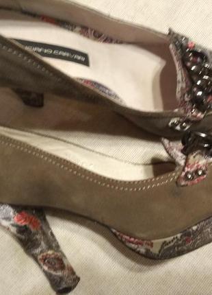 Красочные туфли