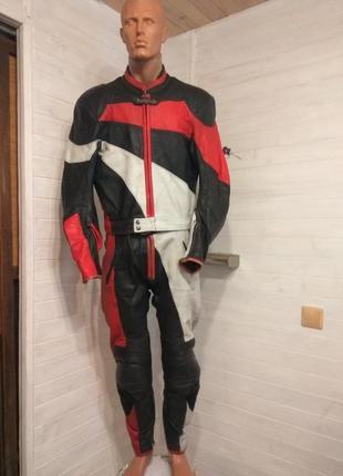 Кожаный мотокостюм haveba