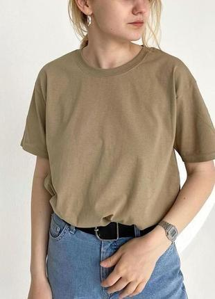 Базовая оверсайз футболка 100% хлопок fruit of the loom valueweight //33 цвета//