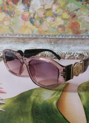 Эксклюзивные брендовые солнцезащитные нюдовые женские очки