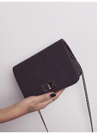 """Женская сумка """"ника"""" черная. сумочка через плечо черного цвета"""