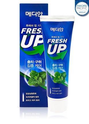 Зубная паста для свежести дыхания median fresh up toothpaste - 120 г