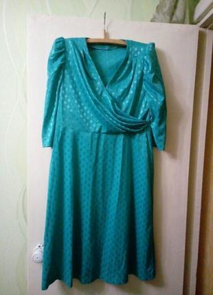 Платье трикотажное новое р.50-52