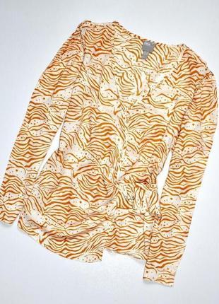 Asos.   блуза на запах с асимметричным подолом. с. 8. 36