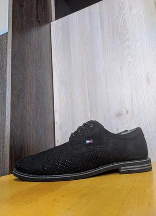Туфли летние кожаные tommy hilfiger