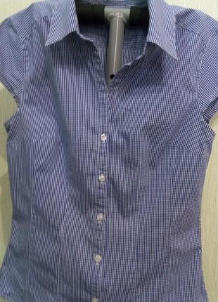 Стрейчевая блузка фирмы н&m