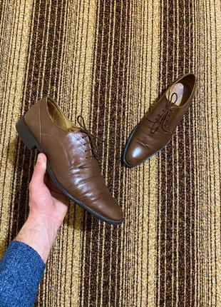 Мужские классические туфли (дерби) badura