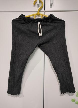 Zara штаны, лосины 98 размер1 фото