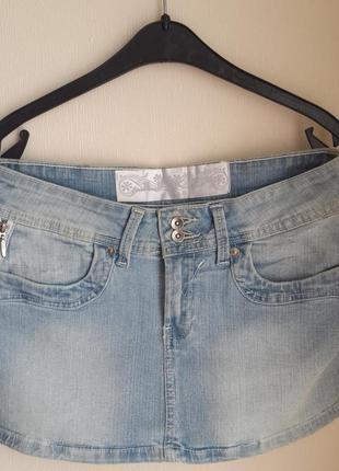 Джинсовая юбка junker