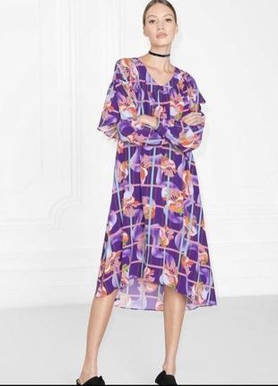 Летнее платье интересного покроя от #otherstories