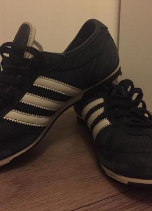 Кросовки adidas originals замша