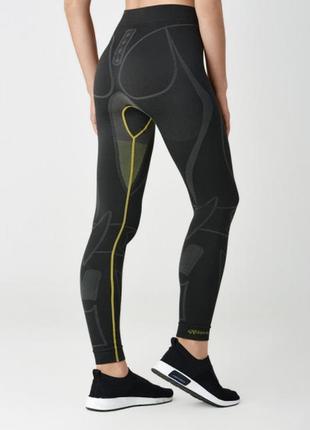 Термобелье штаны женские spaio extreme w02 графит/желтый
