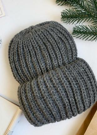 Зимова шапка на флісі