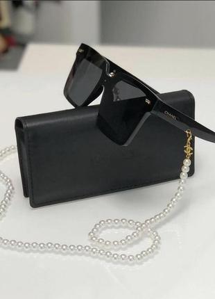 Стильные актуальные очки с цепочкой 🤩