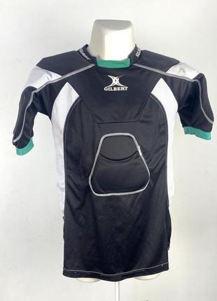 Футболка регбийка с защитой gilbert
