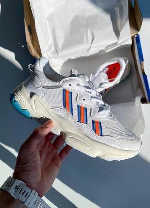 Кроссовки адидас женские озвего обувь взуття кеды adidas ozweego white