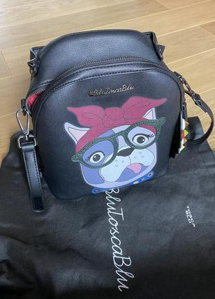 Сумка-рюкзак tosca blu